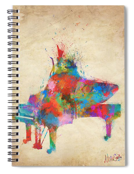 Music Strikes Fire From The Heart Spiral Notebook