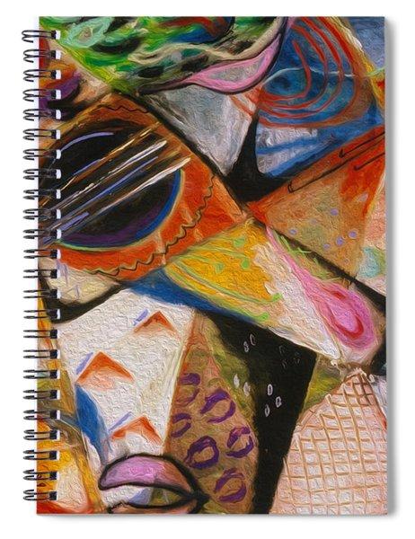Musical Pastels Spiral Notebook