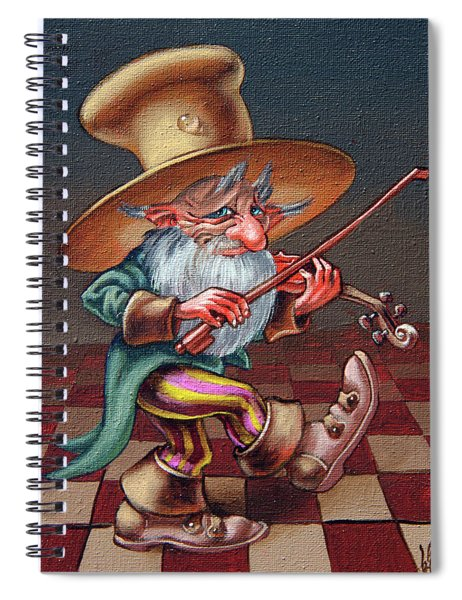 Musical Troll Spiral Notebook