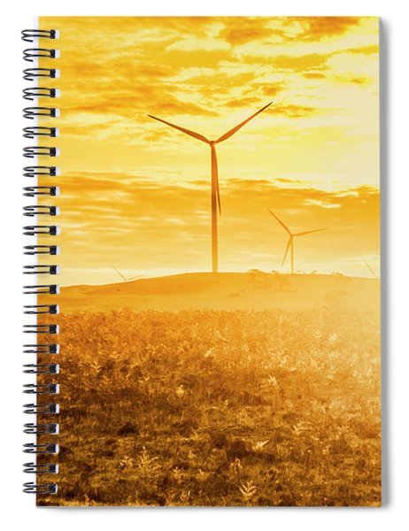 Musselroe Wind Farm Spiral Notebook