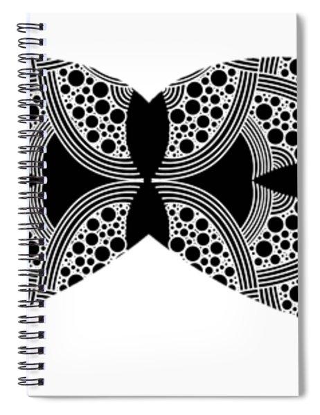 Mustache Tee Spiral Notebook