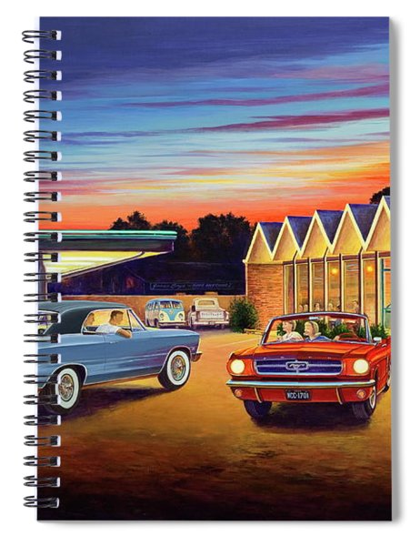 Mustang Sally - Shelton's Diner 2 Spiral Notebook