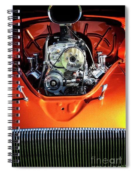 Muscle Engine Spiral Notebook