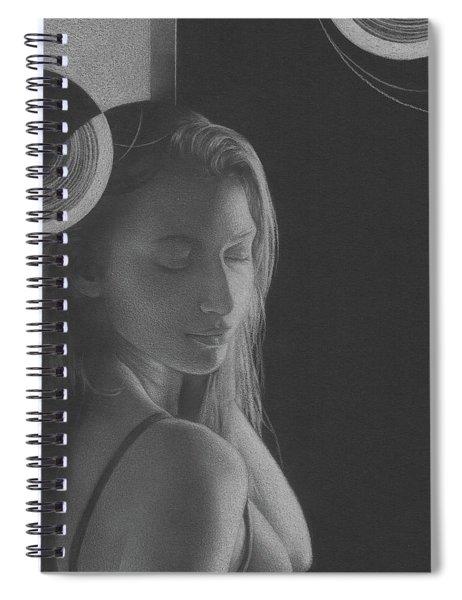 Muted Shadow No. 3 Spiral Notebook