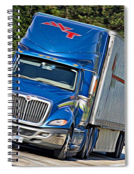 Mvt Soft Oil Photoart_1a Spiral Notebook