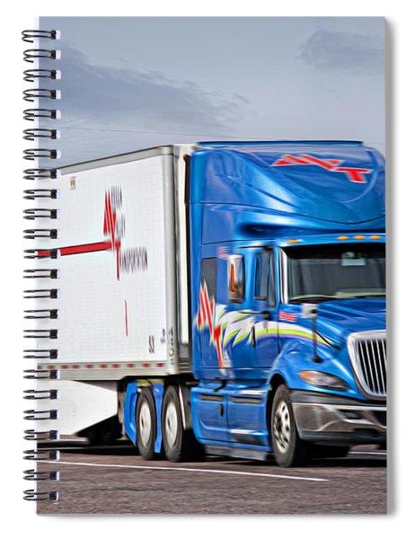 Mvt Soft Oil Photoart_1b Spiral Notebook