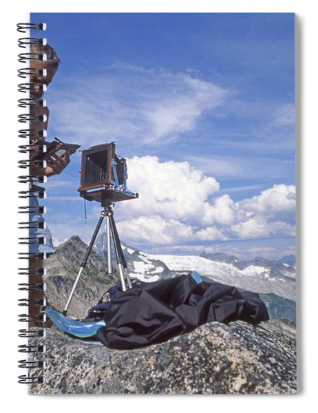 Mxx133 Ed Cooper On Hidden Lakes Peaks Wa Spiral Notebook