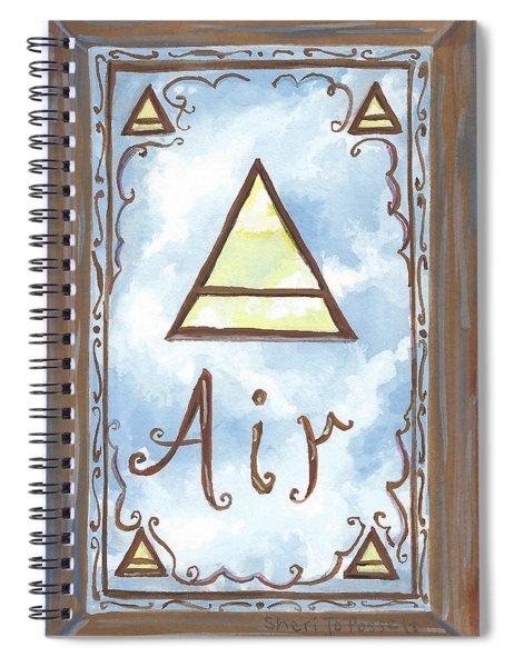 My Air Spiral Notebook