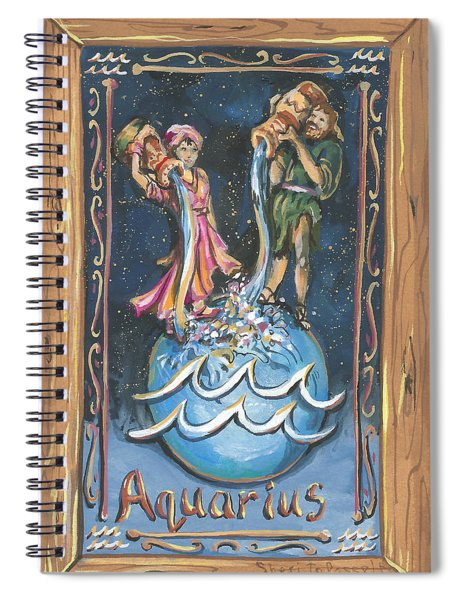 My Aquarius Spiral Notebook