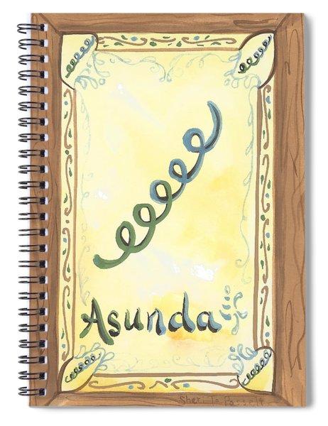 My Asunda Spiral Notebook