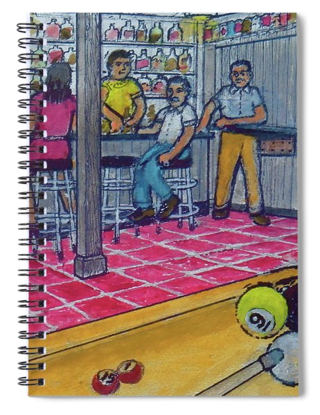 My Basement Bar Pool Table Columbus Ohio Overbrook Drive 1976 Spiral Notebook