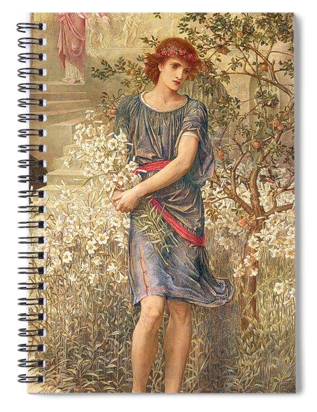 My Beloved Has Gone Down To His Garden Spiral Notebook