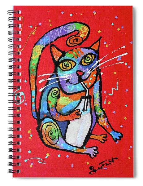 My Cat Is Super Smart Spiral Notebook