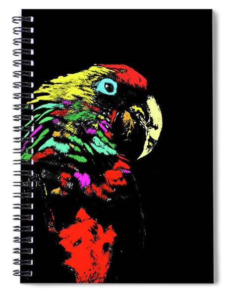 My Colorful Mccaw Spiral Notebook