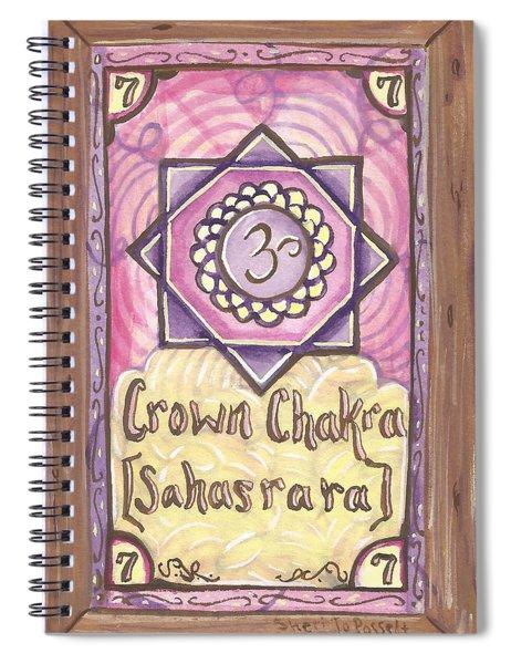 My Crown Chakra Spiral Notebook