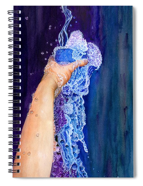 My Cup Runneth Over Spiral Notebook