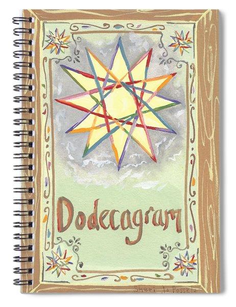 My Dodecagram Spiral Notebook