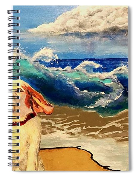 My Dog And The Sea #1 - Beagle Spiral Notebook