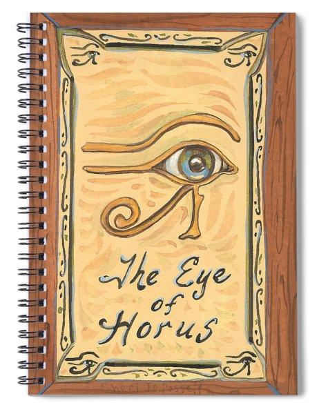 My Eye Of Horus Spiral Notebook