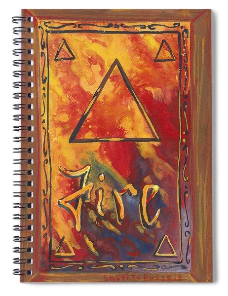 My Fire Spiral Notebook