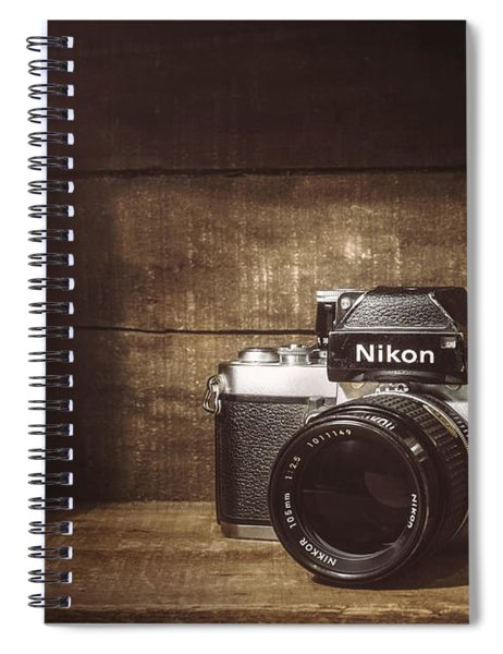 My First Nikon Camera Spiral Notebook