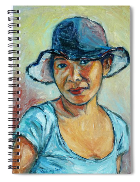 My First Self-portrait Spiral Notebook