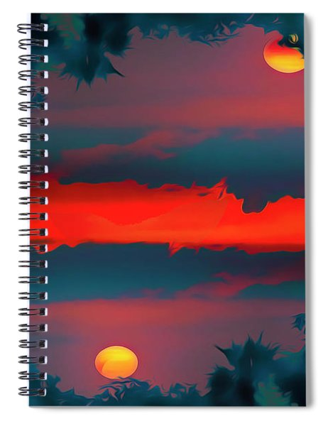My First Sunset- Spiral Notebook