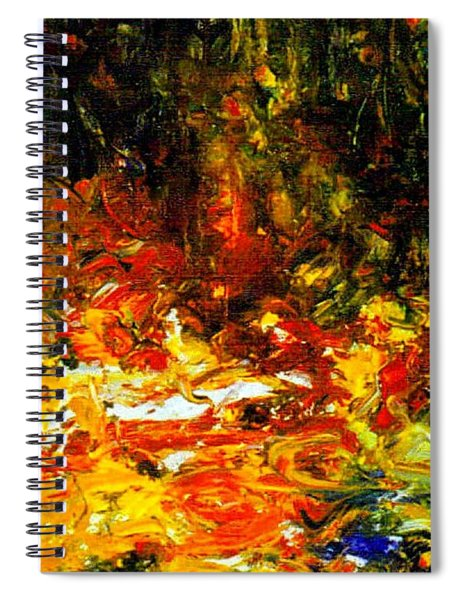 My Forest Of Earthly Delights Spiral Notebook