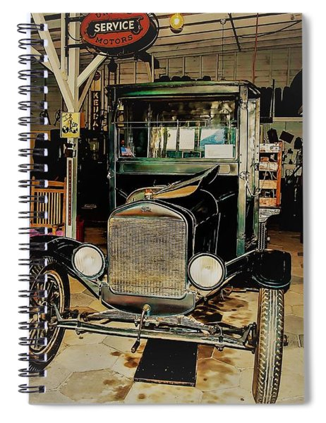 My Garage Too Spiral Notebook