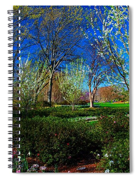 My Garden In Spring Spiral Notebook
