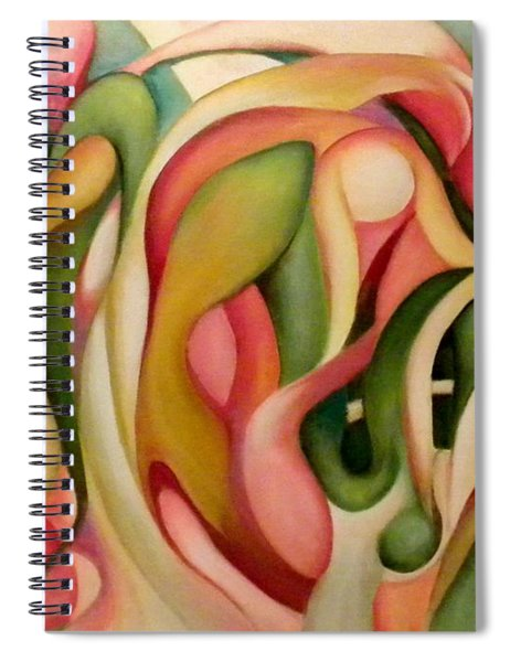 My Garden In The Morning Spiral Notebook