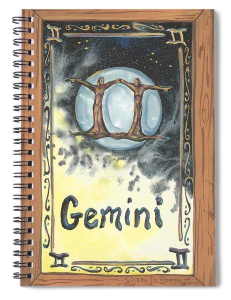My Gemini Spiral Notebook