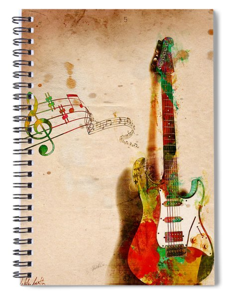 My Guitar Can Sing Spiral Notebook