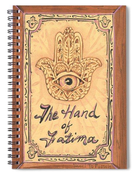 My Hand Of Fatima Spiral Notebook