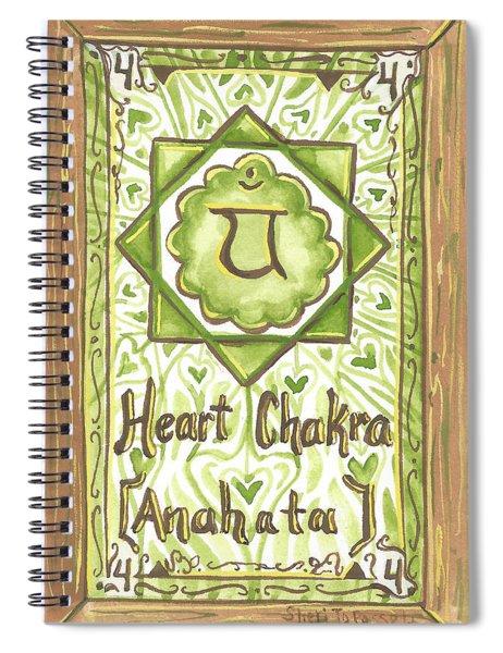 My Heart Chakra Spiral Notebook