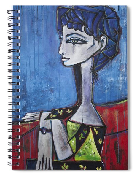 My Jacqueline Spiral Notebook