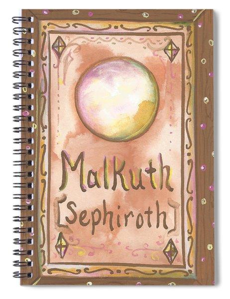 My Malkuth Spiral Notebook