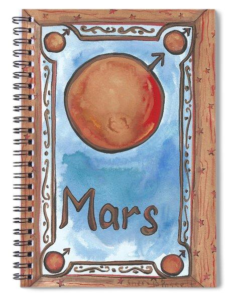 My Mars Spiral Notebook