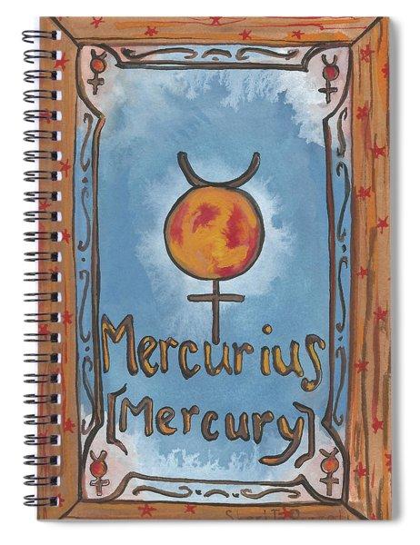 My Mercury Spiral Notebook