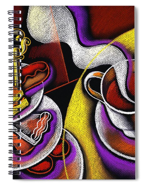 My Morning Coffee Spiral Notebook