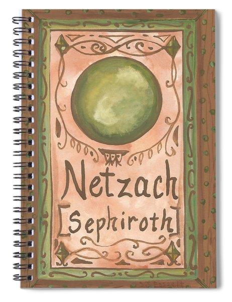 My Netzach Spiral Notebook