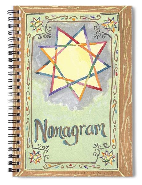 My Nonagram Spiral Notebook