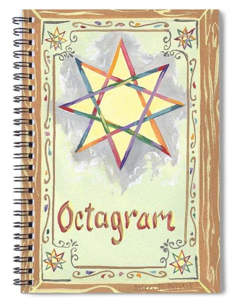 My Octagram Spiral Notebook