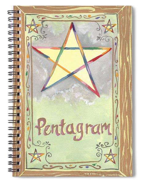 My Pentagram Spiral Notebook