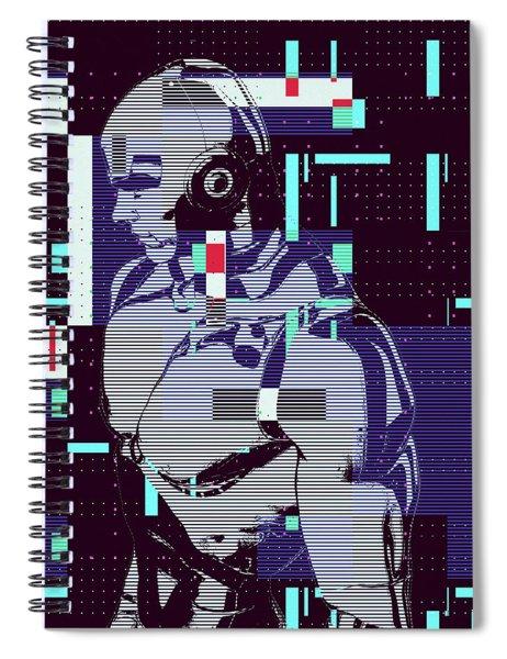My Robot Spiral Notebook