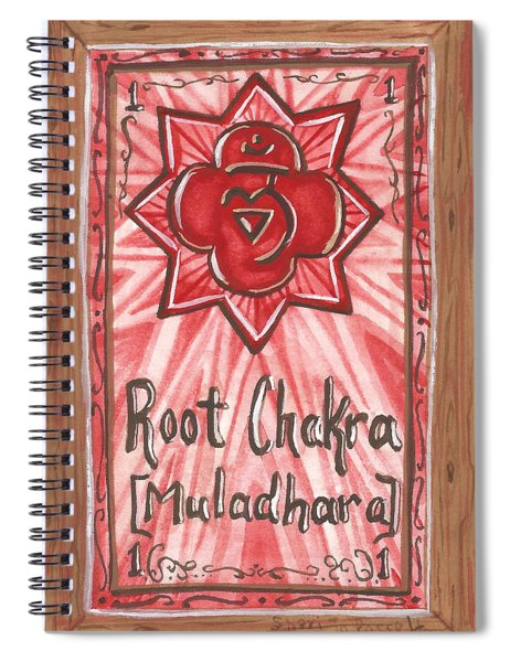 My Root Chakra Spiral Notebook