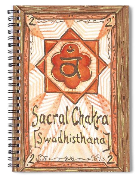 My Sacral Chakra Spiral Notebook