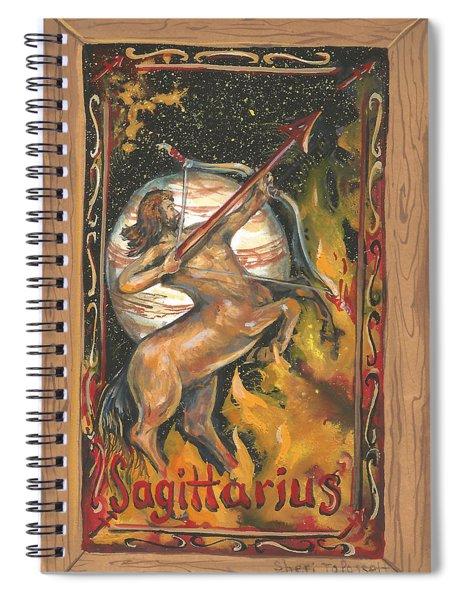 My Sagittarius Spiral Notebook