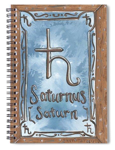 My Saturn Spiral Notebook