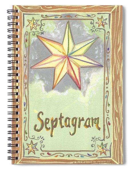 My Septagram Spiral Notebook